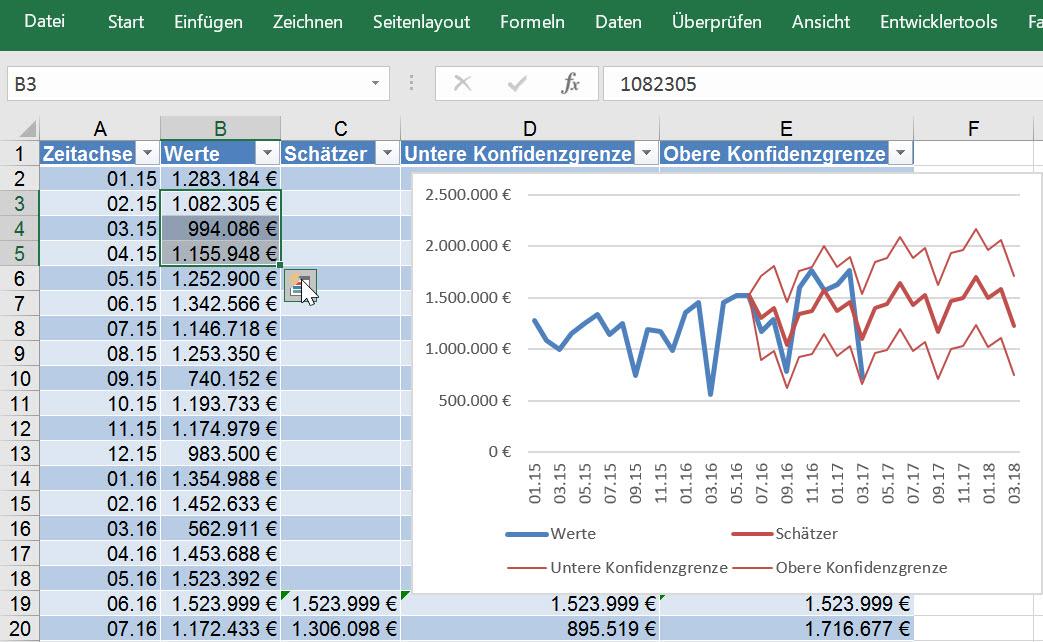 Neue Funktionen für Datenanalyse und Reporting in Excel 2016 | Exbase